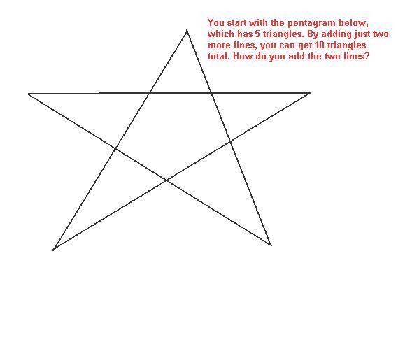 Steve Miller's Math Riddles » Fun with Geometry